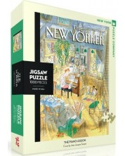 Puzzle New York Puzzle de 1000 piese - The Piano Lesson
