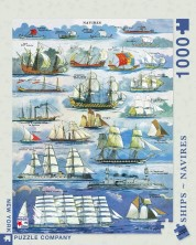 Puzzle New York Puzzle de 1000 piese - Navires Ships