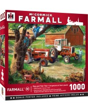 Puzzle Master Pieces de 1000 piese - Boys and their toys