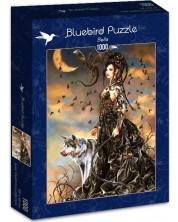 Puzzle Bluebird de 1000 piese - Bella