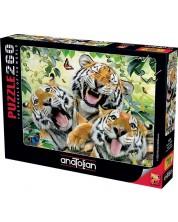 Puzzle Anatolian de 260 piese - Selfie de tigri