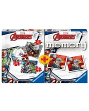 Puzzle Ravensburger 3 in 1 - The Avengers