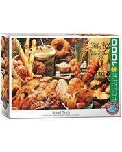 Puzzle Eurographics de 1000 piese -  Bread Table -1