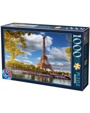 Puzzle D-Toys de 1000 piese - Eiffel Tower, Paris, France -1