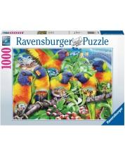 Puzzle Ravensburger de 1000 piese - Land of parrots