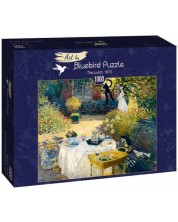 Puzzle Bluebird de 1000 piese - The Lunch, 1873, type I