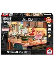 Puzzle Schmidt de 1000 piese - At the kitchen table