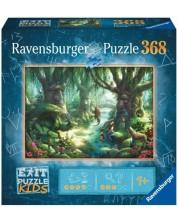 Puzzle Ravensburger de 368 piese - Magic Forest