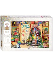Puzzle  Step Puzzle de 1500 piese - Paris