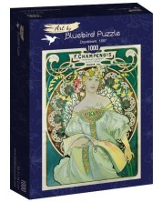 Puzzle Bluebird de 1000 piese - Daydream, 1897