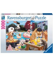 Puzzle Ravensburger de 1000 piese - Summer days for dogs