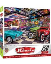 Puzzle Master Pieces de 750 piese -Collector's garage