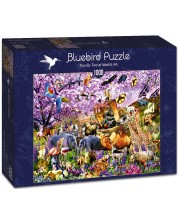 Puzzle Bluebird de 1000 piese - Two By Two at Noah's Ark