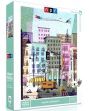 Puzzle New York Puzzle de 1000 piese - Sound Community
