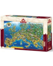 Puzzle Art Puzzle 2000 piese - Minunile lumii