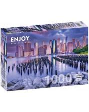 Puzzle Enjoy de 1000 piese - Cloudy Sky Over Manhattan, New York
