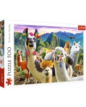 Puzzle Trefl de 500 piese - Lame in munti
