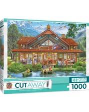Puzzle Master Pieces de 1000 piese - Camping Lodge