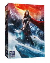 Puzzle Black Sea Puzzles de 1000 piese - Godess of the North, Dusan Markovic