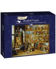 Puzzle Bluebird de 1000 piese - The Art Collection of Archduke Leopold Wilhelm in Brussels, 1652
