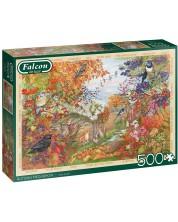 Puzzle Falcon de 500 piese - Autumn Hedgerow -1