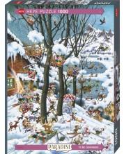 Puzzle Heye de 1000 piese -  Paradise In Winter