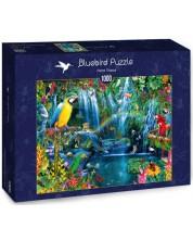 Puzzle Bluebird de 1000 piese - Parrot Tropics