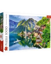 Puzzle Trefl de 1000 piese - Hallstatt, Austria