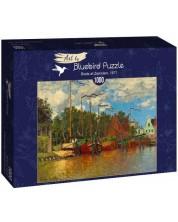 Puzzle Bluebird de 1000 piese - Boats at Zaandam, 1871