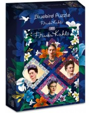 Puzzle Bluebird de 1000 piese - Frida Kahlo