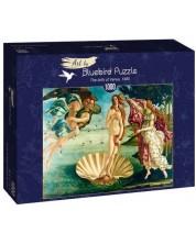 Puzzle Bluebird de 1000 piese - The birth of Venus, 1485