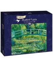 Puzzle Bluebird de 1000 piese -The Water-Lily Pond, 1899