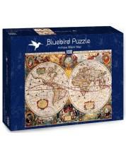 Puzle Bluebird de 1000 piese - Antique World Map