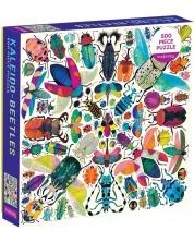 Puzzle Galison de 500 piese - Kaleido Beetles