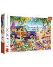Puzzle Trefl de 2000 piese -Tropical holidays