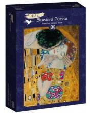 Puzzle  Bluebird de 1000 piese - The Kiss (detail), 1908