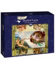 Puzzle Bluebird de 1000 piese - The Creation of Adam, 1511