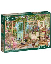 Puzzle Falcon de 1000 piese - Country Conservatory