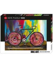 Puzzle Heye de 1000 piese - Bike Art Momentum