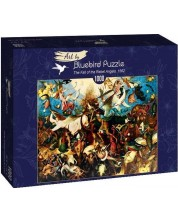 Puzzle Bluebird de 1000 piese - The Fall of the Rebel Angels, 1562