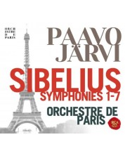 Paavo Järvi & Orchestre De Paris - Sibelius: Complete Symphonies (CD Box)
