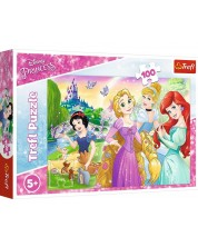 Puzzle Trefl de 100 piese - A dream of being a princess