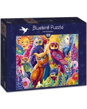 Puzzle Bluebird de 1000 piese - Owl Autonomy