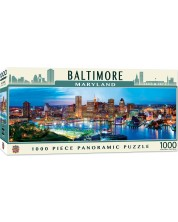 Puzzle panoramic  Master Pieces de 1000 piese - Baltimore