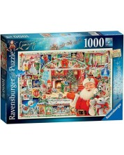 Puzzle Ravensburger de 1000 piese - Christmas is coming