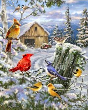 Puzzle Springbok de 1000 piese - Frosty Morning Song