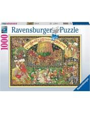 Puzzle Ravensburger de 1000 piese - Nevestele vesele din Windsor