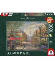 Puzzle Schmidt de 1000 piese - Café in Munich