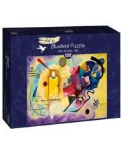 Puzzle  Bluebird de 1000 piese -Gelb-Rot-Blau, 1925