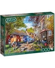 Puzzle Falcon de 1000 piese - The Blacksmith's Cottage -1